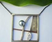 Necklace Tahiti Pearl, Zi...