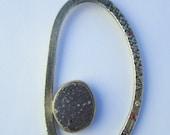 Druzy Necklace Diamond Ru...