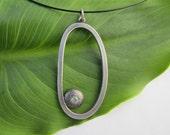 Aquamarine Necklace Origi...