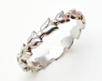 Tulip Ring (silver)