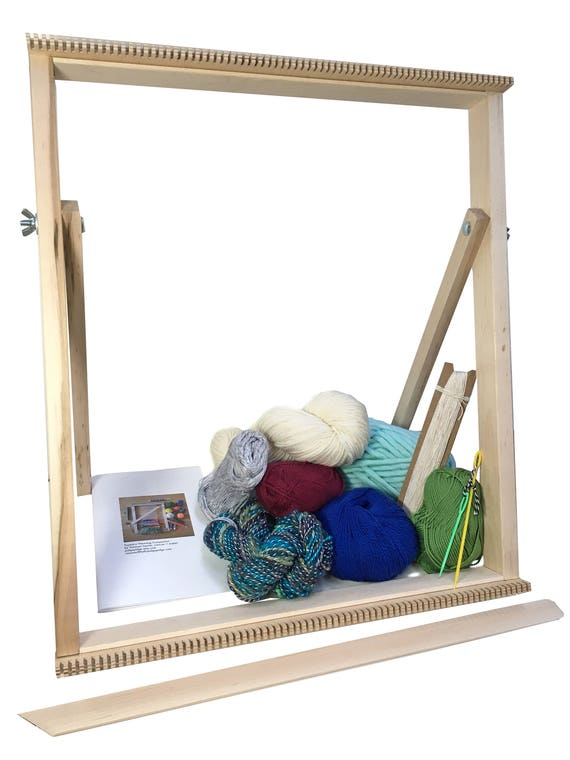 Tapestry Weaving Standing Loom Kit Large Beginner Tapestry | Etsy