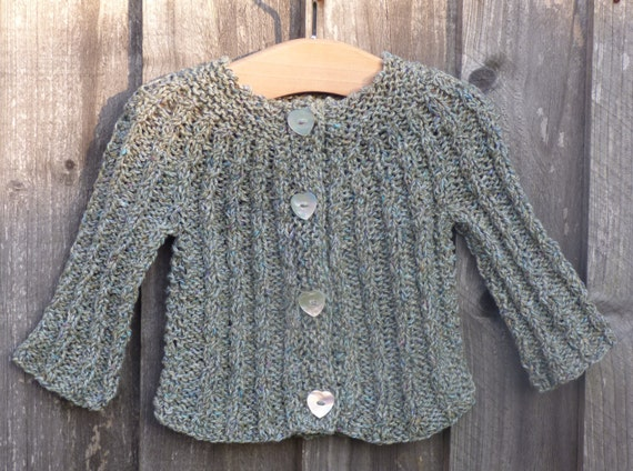 380d256bc Cardigan TOP DOWN KNITTING Pattern Callie a Seamless Cabled