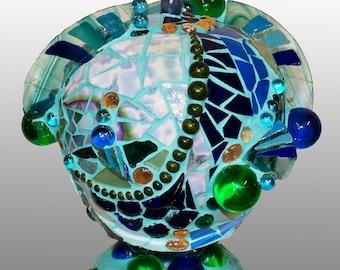 Mosaic Sculpture - Waves