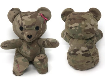 a7c458981673 Keepsake Memory Teddy Bear, LARGE: stuffed animal made from your clothing,  hospital blanket, favorite t-shirt, baby clothes