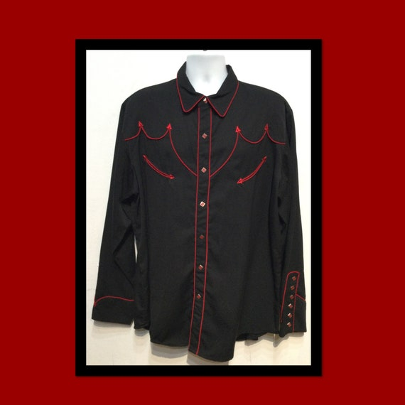 Vintage Scully western shirt. Size X large
