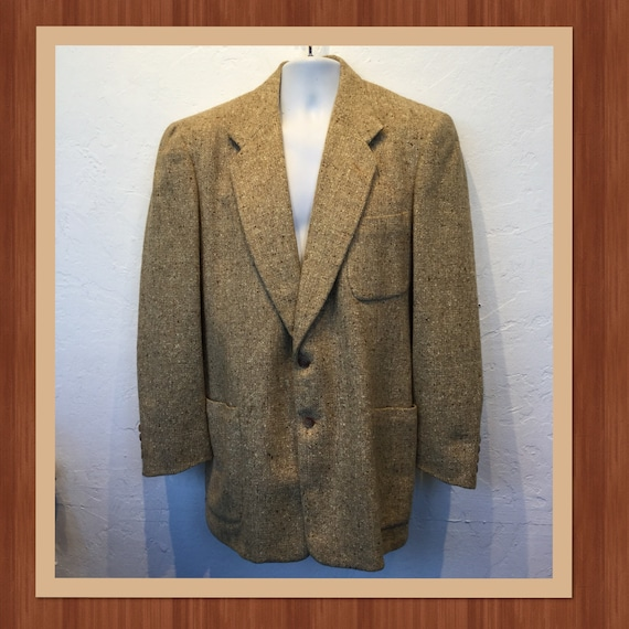 Vintage 1950s fleck sports jacket. Size 42