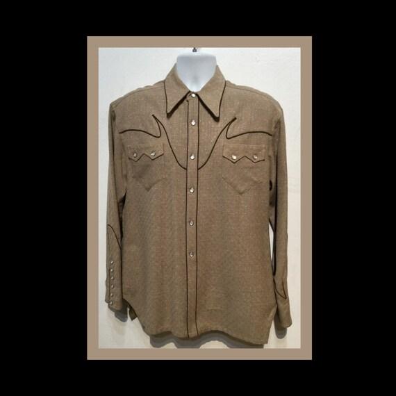 Vintage 1940s/50s western shirt by Nudie's of Nort