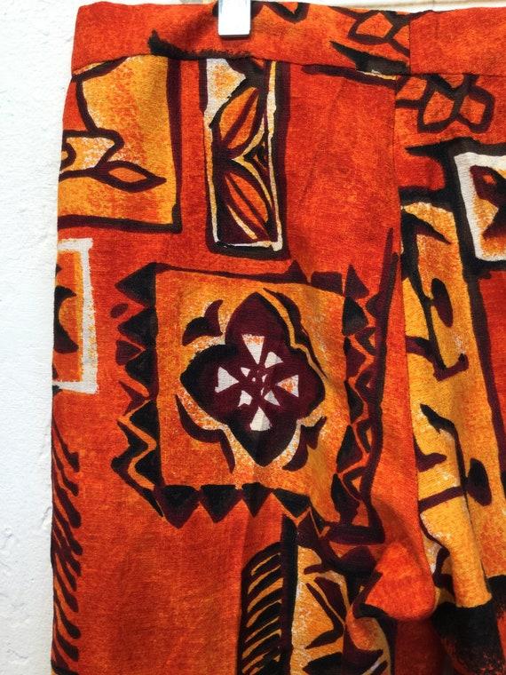 Amazing ! Vintage 1960s/70s cotton Hawaiian print… - image 7