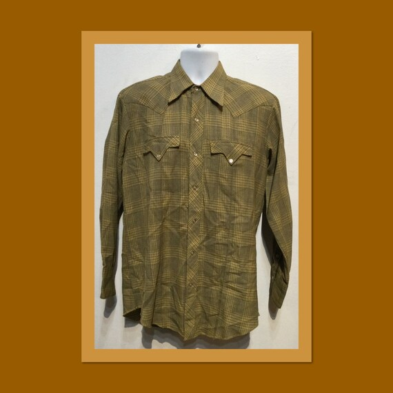 Vintage 1940s/50s Tem-Tex western shirt