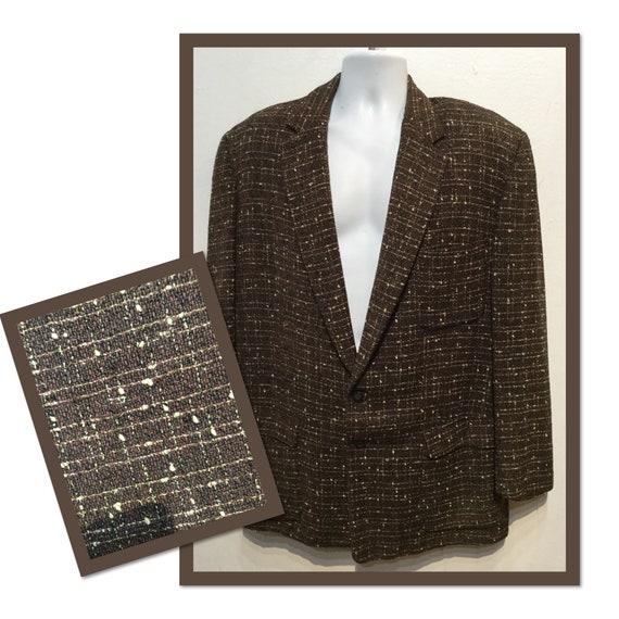 Vintage 1950s fleck sports jacket large/Xlarge