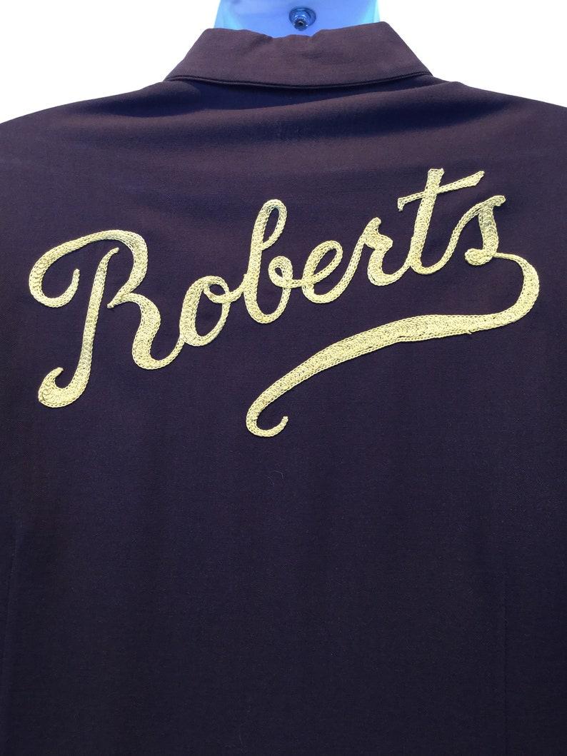 Vintage 1940s50s bowling shirt