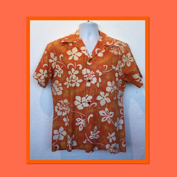Vintage 1940s/50s cotton Hawaiian shirt