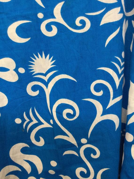 Amazing ! Vintage 1960s/70s cotton Hawaiian print… - image 3