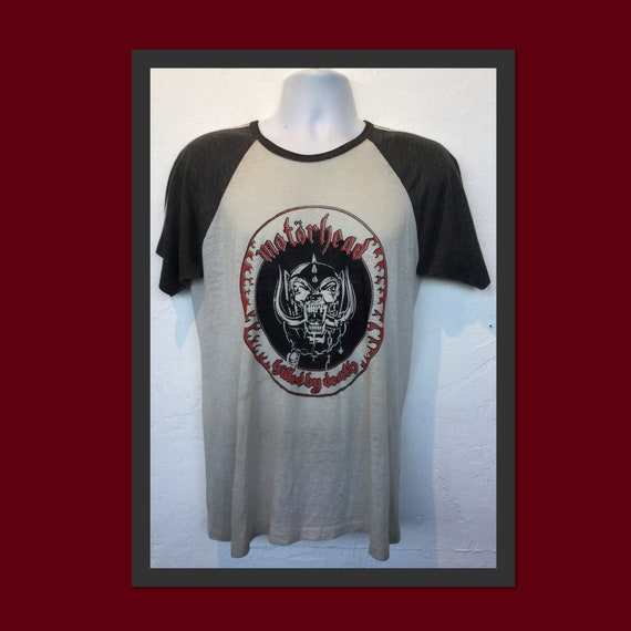 "Vintage printed rock shirt - ""Motorhead- Killed by"