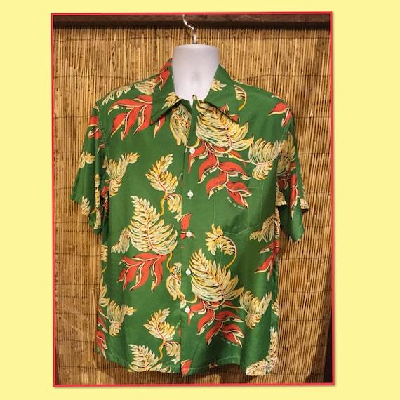 Shirts vintage reproduction hawaiian Men's Vintage