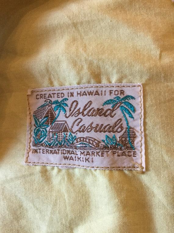 """Vintage 1960s Hawaiian cotton dress. 26"""" waist - image 10"""