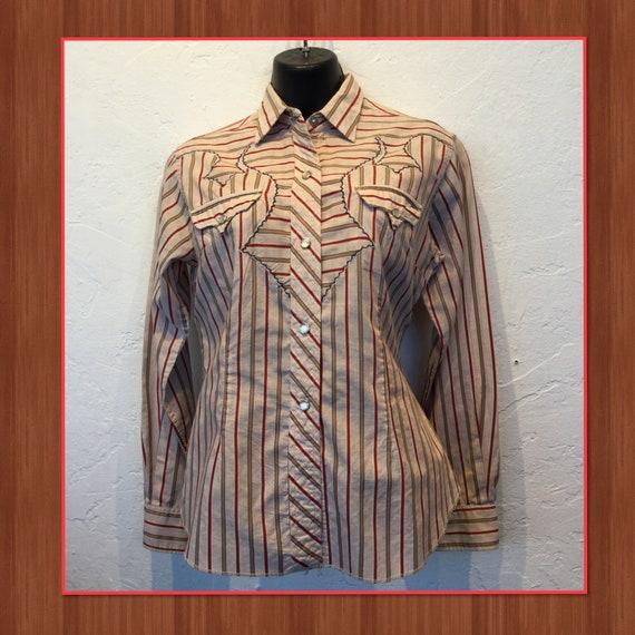 Vintage 1950s/60s women's western shirt