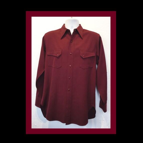 Vintage 1940s pendleton western shirt
