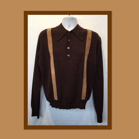 Vintage 1950s/60s knit shirt