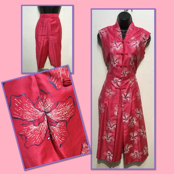 Vintage 1950s dead stock 2 piece set by Alfred Sha