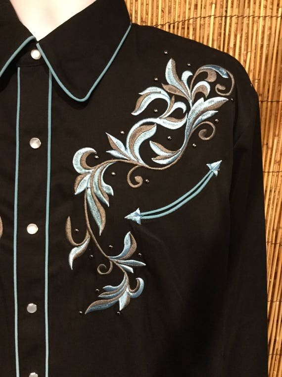 Vintage reproduction Scully western shirt Availab… - image 2