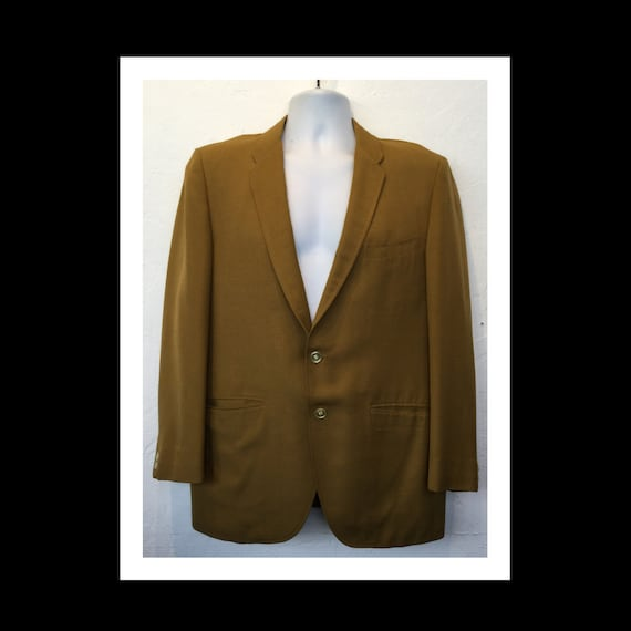Vintage 1960s sports jacket by Penney's Towncraft