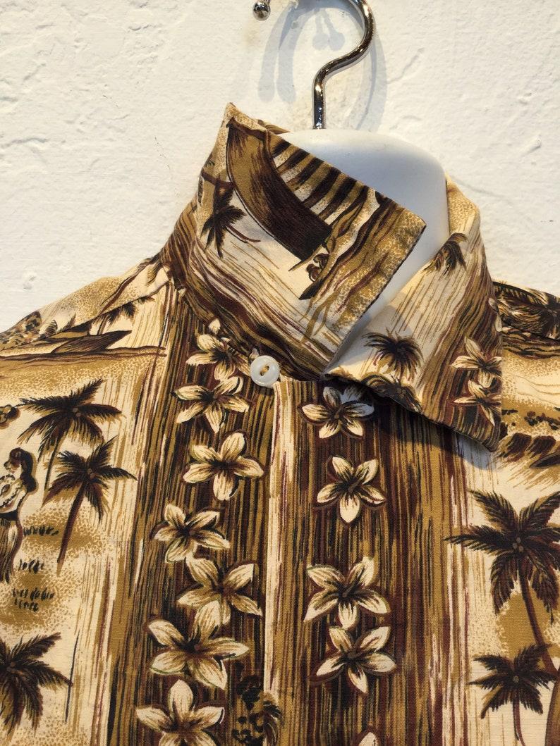 Vintage 1950s60s Hawaiian shirt
