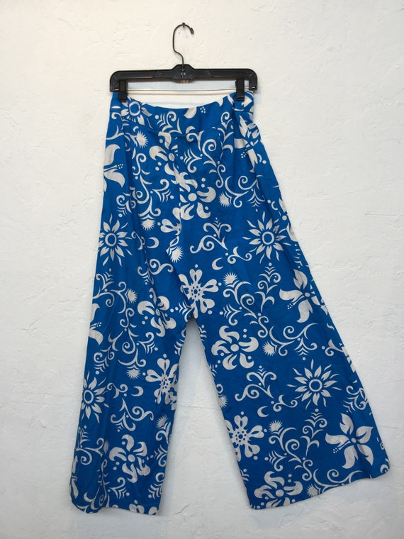 Amazing ! Vintage 1960s/70s cotton Hawaiian print… - image 8