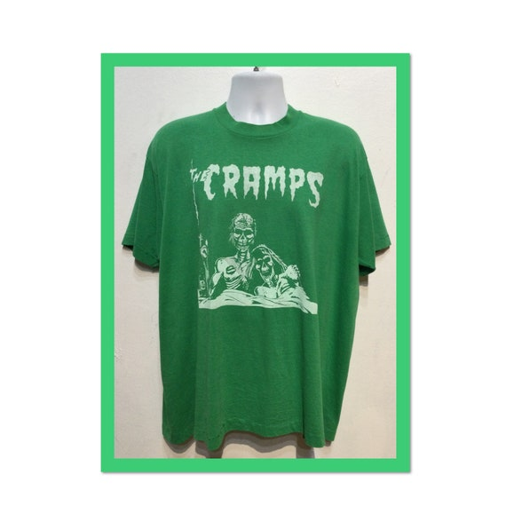 """Vintage printed rock T-shirt -"""" The Cramps """" Size"""