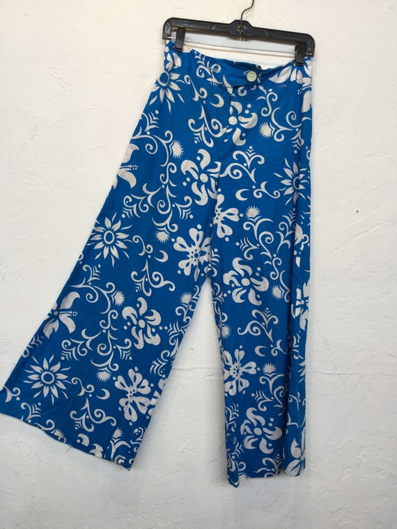 Amazing ! Vintage 1960s/70s cotton Hawaiian print… - image 9