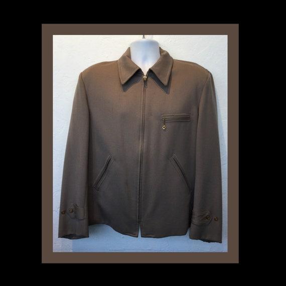 Vintage 1940s/50s Pendleton gabardine jacket