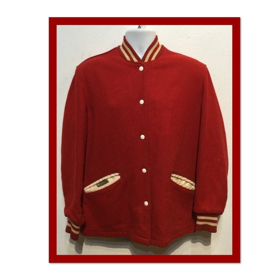 Vintage 1950s/60s varsity car club jacket