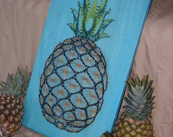 Pineapple String Art Plan and Pattern