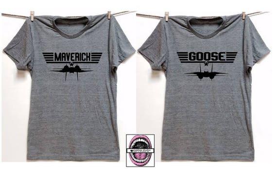 Official Men/'s Top Gun Viper T-Shirt