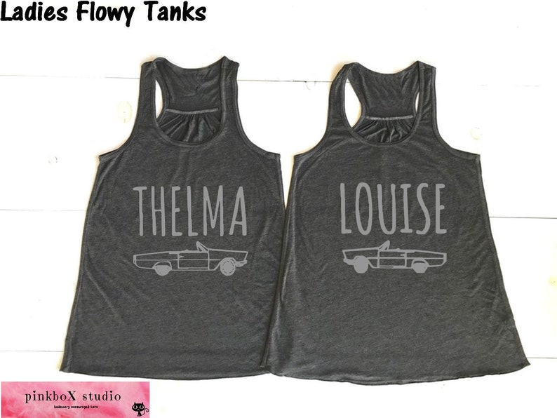 80142c79 Thelma and Louise CAR image.Set of 2 Soft flowy Dark Heather | Etsy