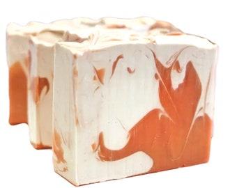 Vanilla Tangerine Soap, Soap Gift, Vanilla Soap, Citrus Soap, Orange Soap, Vegan Soap, Natural Soap, Cold Process Soap