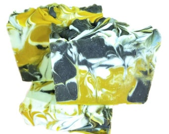Honeysuckle Soap, Natural Soap, Vegan Soap, Cold Process Soap, Soap Gift, Shea Butter Soap, Mother's Day Gift, Floral Soap, Swirled Soap
