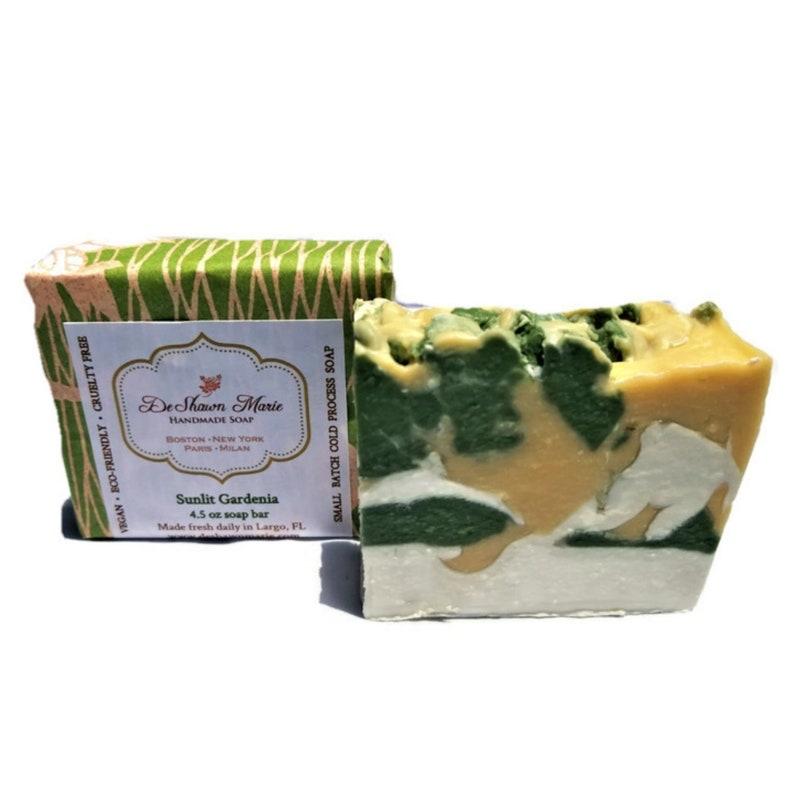 Gardenia Soap Floral Soap Vegan Soap Soap Gift Natural image 0