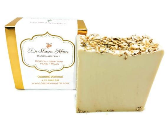 SOAP- Oatmeal Almond Soap - Handmade Soap - Fresh Soap- Soap Gift - Christmas Gift      Soap Sale Gift For Mom Stocking Stuffer