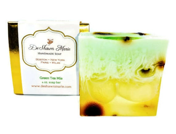 Green Tea Soap/Handmade Soap/Vegan Soap/Handcrafted Soap/Soap Gift/Homemade Soap/Christmas Gift/Christmas Soap Gift/Vegan Gift/Natural Soap