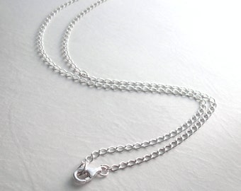 Long Sterling Silver Chain 1042163794