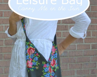 PDF Sewing Pattern / Leisure Bag ~ Carry Me in the Sun