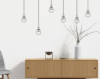 Light Bulbs - Wall decal