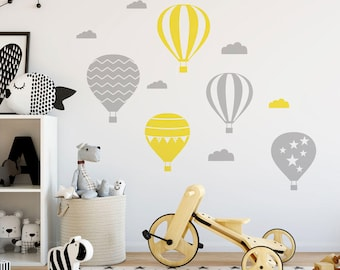 Air Balloons Wall Decals