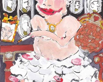 Homage to Elie Anatole Pavil - Waiting