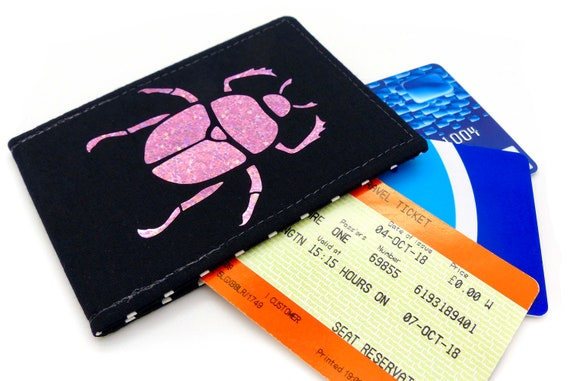 Oyster Card Holder Wallets for Train Tickets Bus Pass Lots of Fun New Designs