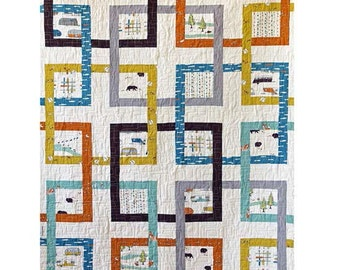 Grand Junction Quilt Pattern - PDF