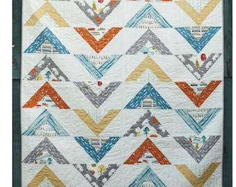 Koa Avenue Quilt Pattern - DIGITAL COPY