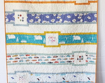 Love At Sea Quilt Pattern - PDF DOWNLOAD