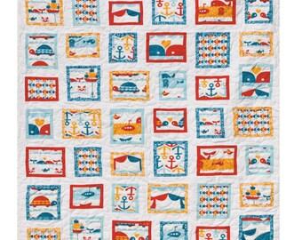 SALE!!  Area Code Quilt Pattern - Paper Pattern